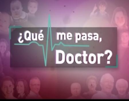 La Dra.Olga Córdoba en ¿Que me pasa Doctor?